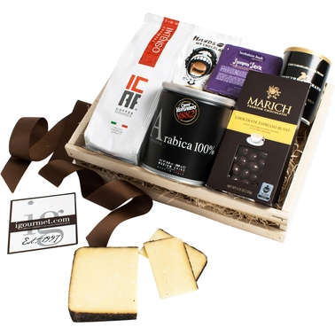 The Gourmet Market Espresso Lover's Gift Crate