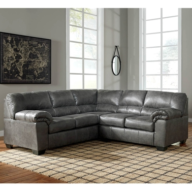 Signature Design by Ashley Bladen 2 Pc. Sectional LAF Loveseat/RAF Sofa