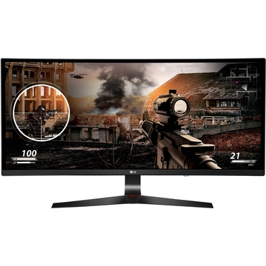 LG 34 in. UltraWide IPS Curved Gaming LED Monitor