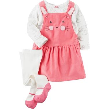 b2e03af76 Carter's Infant Girls Bunny Jumper 3 Pc. Set | Baby Girl 0-24 Months ...