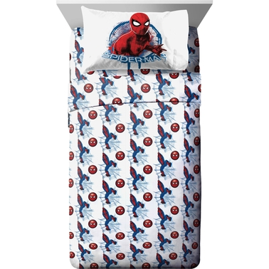 Jay Franco and Sons Spider-Man Movie 3 Pc. Twin Sheet Set