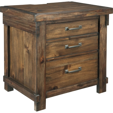 Signature Design by Ashley Lakeleigh Three Drawer Nightstand