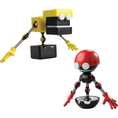 Sonic the Hedgehog 3 in. Figure 2 Pk., Cubot and Orbot