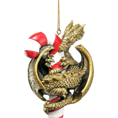 Design Toscano Dragon with a Sweet Tooth 2009 Holiday Ornament