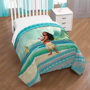 Jay Franco and Sons Moana Wave Twin Comforter