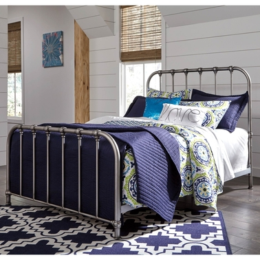 Signature Design by Ashley Nashburg Metal Bed