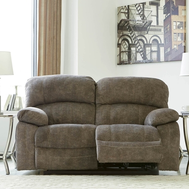 Ashley Cannelton Power Reclining Loveseat With Power