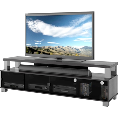 CorLiving Bromley Two Tier TV Bench for TVs up to 80 in.