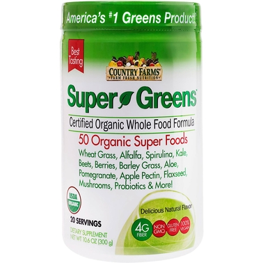 Country Farms Super Greens Blend Natural