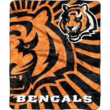 Northwest NFL 065 Bengals Sherpa Strobe Throw