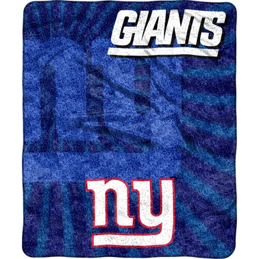 Northwest NFL 065 NY Giants Sherpa Strobe Throw