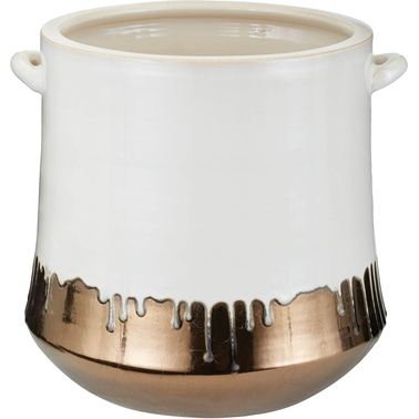 Dimond Home Metallic Alloy Drip Crock