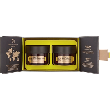 The Body Shop Spa of the World Blissful Ritual Duo 2 Pc. Spa Gift Set