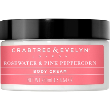 Crabtree & Evelyn Rosewater and Pink Peppercorn Body Cream 8.64 oz.