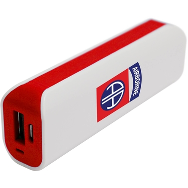 QuikVolt 82nd Airborne Division 1800mAh USB Mobile Charger