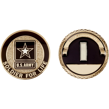 Challenge Coin Army Rank First Lieutenant Coin