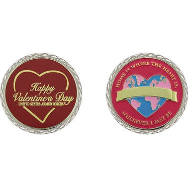 Challenge Coin Valentine's Day Home Coin