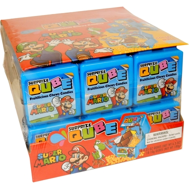 Super Mario Brothers Surprize QUBE, 18 Pk.