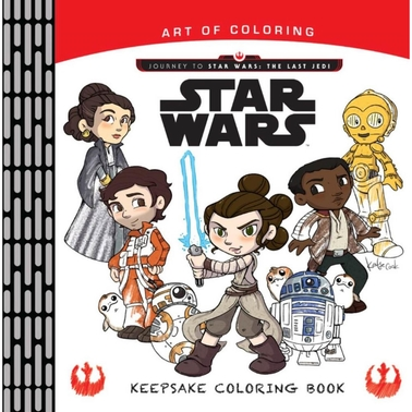 Art Of Coloring Keepsake Coloring Book: Journey To Star ...