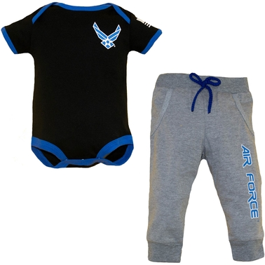 Trooper Clothing Infant Air Force Jogger 2 Pc. Set