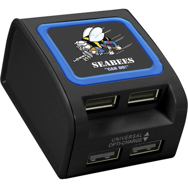 QuikVolt Navy Seabees USB Wall Charger
