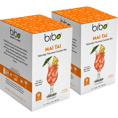 BIBO Mai Tai Cocktail Pouch Mix 18 pk.