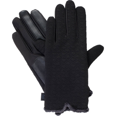 Isotoner Stretch Textured Glove with smarTouch Technology (Microluxe)