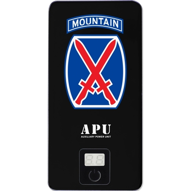 QuikVolt 10th Mountain Division 10000mAh USB Mobile Charger