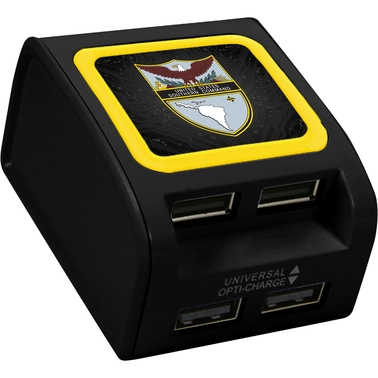 QuikVolt United States Southern Command 4 Port USB Wall Charger