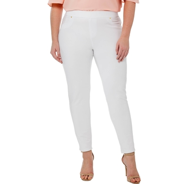 Michael Kors Plus Size Pull On Twill Leggings