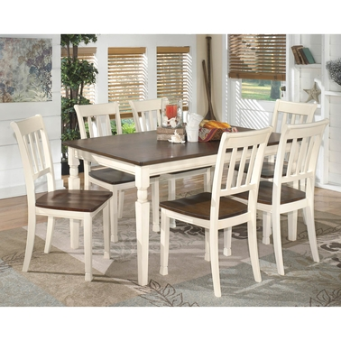 Signature Design by Ashley Whitesburg Table with 6 Chairs