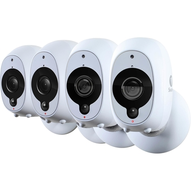 Swann 1080p Full HD Battery-Powered Wire-Free Cameras, 4 Pk.