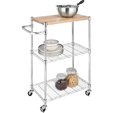 Whitmor Supreme Kitchen Cart