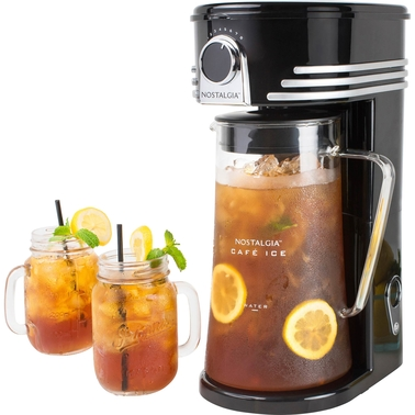 Nostalgia Electrics Cafe Ice 3 Qt. Iced Coffee and Tea Brewing System