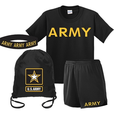Mitchell Proffitt U.S. Army Shirt/Short Kids Gift Pack