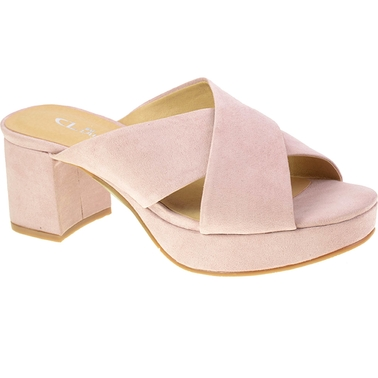 CL By Laundry Kismet Platform Slide Sandals