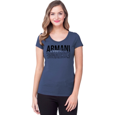 Armani Exchange Mirror Armani Exchange Logo Tee