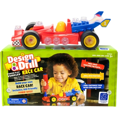 Educational Insights Design and Drill Race Car