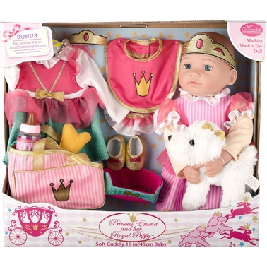 Kingstate Princess Emma and Her Royal Puppy Play Set
