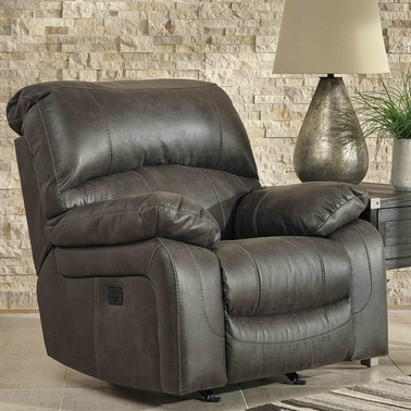 Ashley Dunwell Power Recliner with Power Headrest