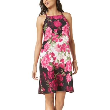 Alfani Petite Floral Print Shift Dress