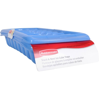 Rubbermaid Stack and Nest Ice Cube Tray 2 pk.
