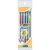 BIC Pencil Xtra Precision 0.5mm Fine Point 5 pk. Pouch