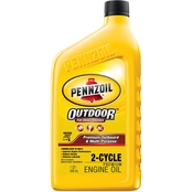 Pennzoil Premium Outboard and Multipurpose 2 Cycle Oil