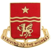Army 30th Field Artillery (FA) Regiment Unit Crest