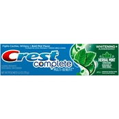 Crest Complete Whitening Expressions Herbal Mint Flavor Toothpaste, 6 Oz.