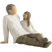 Willow Tree Father & Daughter Figurine