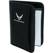Mercury Luggage Air Force Embroidered Deluxe Padfolio