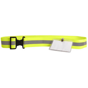 Sayre 2 in. Reflective Belt with ID Holder