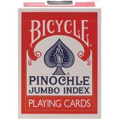 Bicycle Pinochle Jumbo Playing Cards